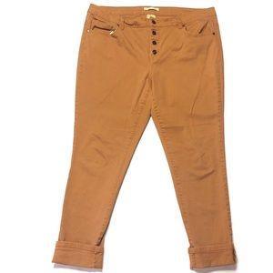 Pumpkin Boyfriend Pants
